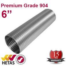 """6"""" Premium Grade 904 Flue Liner"""