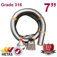 """7"""" Grade 316 Chimney Kit"""