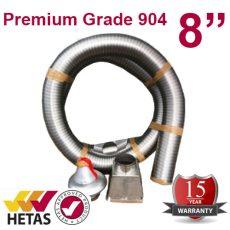 "8"" Premium Grade 904 Chimney Pack"