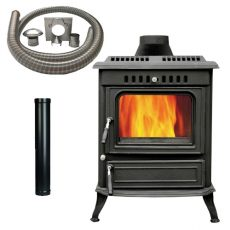 Deluxe 21b Stove with Installtion it
