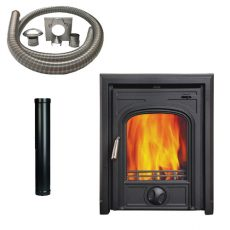 Inset Stove with Installation Kit