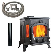 Panoramic 11 Stove with Installation Kit