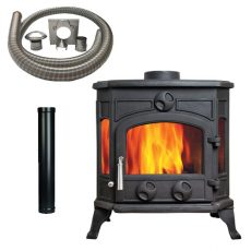 panoramic 7 Stove with Installation Kit