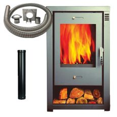 Revona 9s Stove with Installation Kit