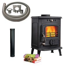 Solo 6b stove with Installation Kit