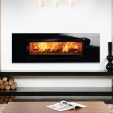 Stovax Studio 3 Glass inset wood burning fire